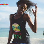 tank top woman on beach  Grenada indepen