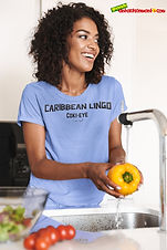 """Ever Wanted To Know The Meaning Behind Some Of Our Caribbean Sayings, Dialect & Patios - Get In The Know & Check Out Our Caribbean Lingo Series By Wearing The Meaning. """"Coki- Eye"""" means """"Cross-Eyed."""" Thank You For Checking Out Our Official Merchandise for Grenada Entertainment.com"""