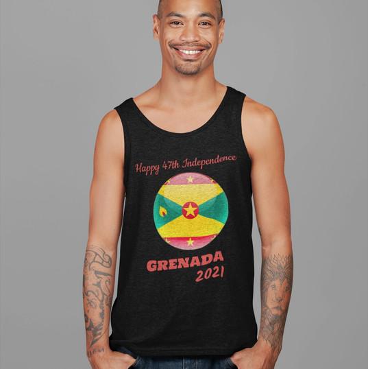 man in grenada 2021 happy 47 independenc