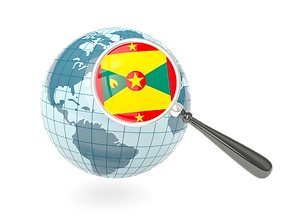 grenada_magnified_flag_with_blue_globe_6