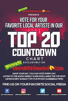 Grenada Top 20 Radio Video Countdown