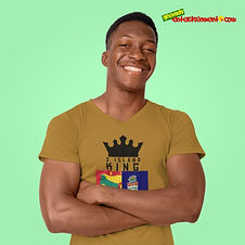 2 Island King Is One Of Our Ranges Designed For All The Caribbean Kings Out There - As Caribbean People, We Are All One People & This Is For All Those Kings & Princes With Roots In 2 Islands - Grenada & Cayman Islands. Once Your Roots Is In Either Island Or Your Significant Other Is From One Of Our Beautiful Islands, You Spent Time In Either Island Or You Just Showing Support For A 2 Island King - Then This One Is For You - Get For Kings & Princes Today - Check Out 2 Island Queen For All The Queens & Princesses.
