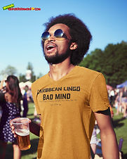 """Ever Wanted To Know The Meaning Behind Some Of Our Caribbean Sayings, Dialect & Patios - Get In The Know & Check Out Our Caribbean Lingo Series By Wearing The Meaning. """"Bad Mind"""" means """"To, Not Only, Be Envious Of Other People's Success But Also To Be Inclined To Do Things That Will Interfere With The Progress Of Others."""" Thank You For Checking Out Our Official Merchandise for Grenada Entertainment.com."""