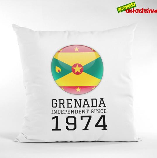 Grenada Independent since 1974 Pillow.jp
