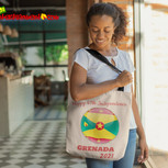 Happy 47th Independence Grenada Tote Bag