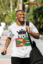 2 Island King Is One Of Our Ranges Designed For All The Caribbean Kings Out There - As Caribbean People, We Are All One People & This Is For All Those Kings & Princes With Roots In 2 Islands - Grenada & Dominica. Once Your Roots Is In Either Island Or Your Significant Other Is From One Of Our Beautiful Islands, You Spent Time In Either Island Or You Just Showing Support For A 2 Island King - Then This One Is For You - Get For Kings & Princes Today - Check Out 2 Island Queen For All The Queens & Princesses.