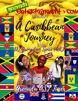 Caribbean Journey with Dj Grenadian Spice (UK)