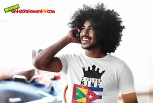 2 Island King Is One Of Our Ranges Designed For All The Caribbean Kings Out There - As Caribbean People, We Are All One People & This Is For All Those Kings & Princes With Roots In 2 Islands - Grenada & Cuba. Once Your Roots Is In Either Island Or Your Significant Other Is From One Of Our Beautiful Islands, You Spent Time In Either Island Or You Just Showing Support For A 2 Island King - Then This One Is For You - Get For Kings & Princes Today - Check Out 2 Island Queen For All The Queens & Princesses.