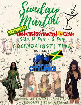 Sunday Martini With City Links (JA)