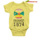 Baby Onsie Happy 47 Independence Grenada