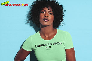 """Ever Wanted To Know The Meaning Behind Some Of Our Caribbean Sayings, Dialect & Patios - Get In The Know & Check Out Our Caribbean Lingo Series By Wearing The Meaning. """"Maga"""" means """"Very Thin/Skinny"""" Thank You For Checking Out Our Official Merchandise for Grenada Entertainment.com"""