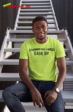 """Ever Wanted To Know The Meaning Behind Some Of Our Caribbean Sayings, Dialect & Patios - Get In The Know & Check Out Our Caribbean Lingo Series By Wearing The Meaning. """"Ease Up"""" means """"To Let Off The Hook."""" Thank You For Checking Out Our Official Merchandise for Grenada Entertainment.com"""