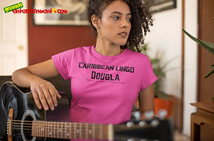 """Ever Wanted To Know The Meaning Behind Some Of Our Caribbean Sayings, Dialect & Patios - Get In The Know & Check Out Our Caribbean Lingo Series By Wearing The Meaning. """"Dougla"""" means """"Mixture Of Indian & African Parentage."""" Thank You For Checking Out Our Official Merchandise for Grenada Entertainment.com"""