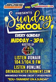 Sunday Skool On Boss FM