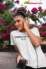 """Ever Wanted To Know The Meaning Behind Some Of Our Caribbean Sayings, Dialect & Patios - Get In The Know & Check Out Our Caribbean Lingo Series By Wearing The Meaning. """"You So"""" means """"People Like You"""" Thank You For Checking Out Our Official Merchandise for Grenada Entertainment.com"""