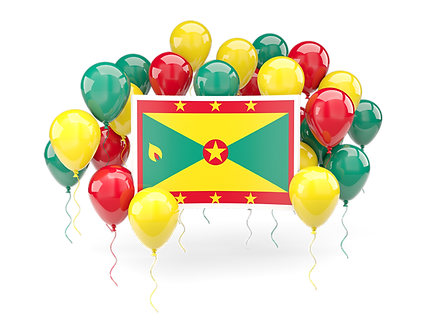 grenada_square_flag_with_balloons_640.pn