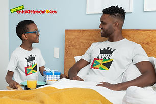 2 Island King Is One Of Our Ranges Designed For All The Caribbean Kings Out There - As Caribbean People, We Are All One People & This Is For All Those Kings & Princes With Roots In 2 Islands - Grenada & Jamaica. Once Your Roots Is In Either Island Or Your Significant Other Is From One Of Our Beautiful Islands, You Spent Time In Either Island Or You Just Showing Support For A 2 Island King - Then This One Is For You - Get For Kings & Princes Today - Check Out 2 Island Queen For All The Queens & Princesses.