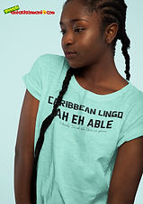 """Ever Wanted To Know The Meaning Behind Some Of Our  Caribbean Sayings, Dialect & Patios - Get In The Know & Check Out Our Caribbean Lingo Series By Wearing The Meaning. """"Ah Eh Able"""" means """"I'm Not Able/ Give Me Patience"""". Thank You For Checking Out Our Official Merchandise for Grenada Entertainment.com. We are an Online Radio & Community Dedicated To Entertainment & Education. Every Time You Support Us by Purchasing Our Merchandise, We Are Able To Stay Online Longer Providing Free & Quality Content"""
