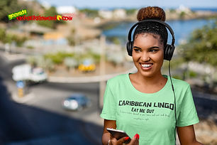 """Ever Wanted To Know The Meaning Behind Some Of Our Caribbean Sayings, Dialect & Patios - Get In The Know & Check Out Our Caribbean Lingo Series By Wearing The Meaning. """"Eat Me Out"""" means """"To Have Visitors 'Descend' On Your Home And Eat And Drink Everything In Sight."""" Thank You For Checking Out Our Official Merchandise for Grenada Entertainment.com"""