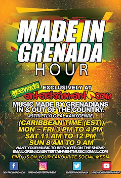 Made In Grenada Hour