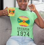 Woman with Grenada Independent Since 197