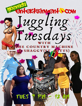 Juggling Tuesdays with The Country Machine DJ Shaggy From St. Kitts
