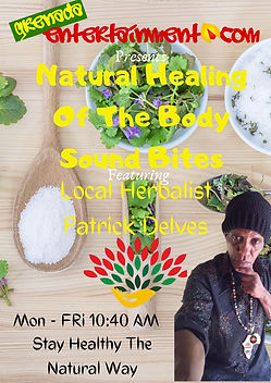 Natural Healing Of The Body Sound Bites