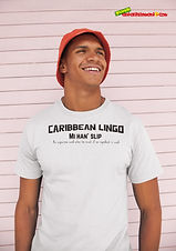 """Ever Wanted To Know The Meaning Behind Some Of Our Caribbean Sayings, Dialect & Patios - Get In The Know & Check Out Our Caribbean Lingo Series By Wearing The Meaning. """"Mi Han' Slip!"""" means """"An Expression Used When Too Much of an Ingredient Is Used."""" Thank You For Checking Out Our Official Merchandise for Grenada Entertainment.com"""