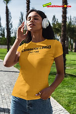 """Ever Wanted To Know The Meaning Behind Some Of Our Caribbean Sayings, Dialect & Patios - Get In The Know & Check Out Our Caribbean Lingo Series By Wearing The Meaning. """"Like T'ing"""" means """"To Be Somewhat Mischievous"""""""