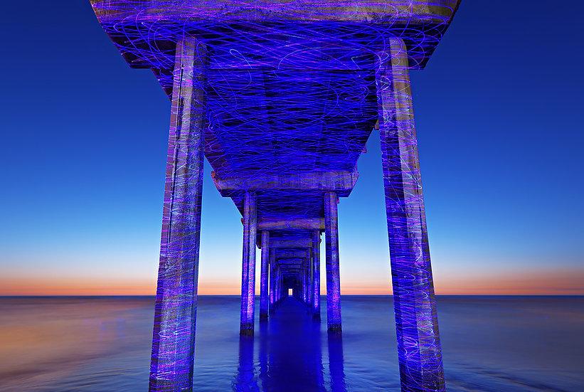 Graffiti Pier - California