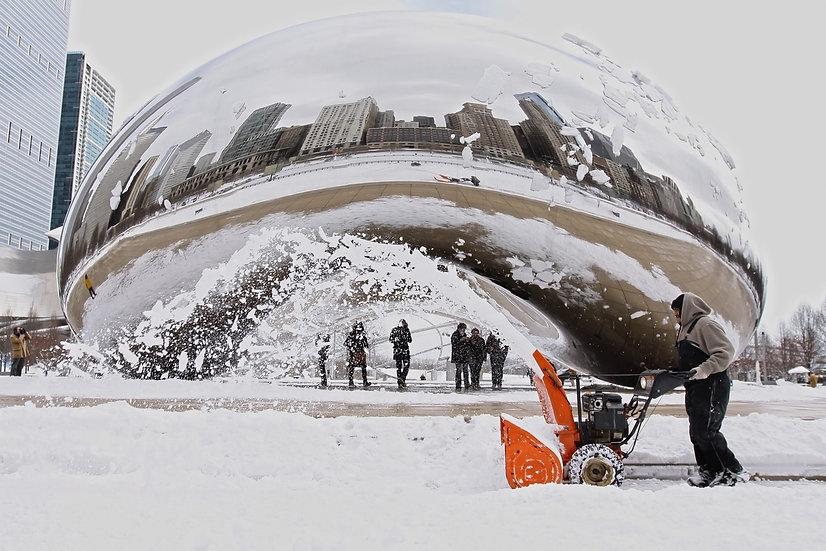 Bean Snow Blower