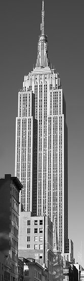 Empire State   BW