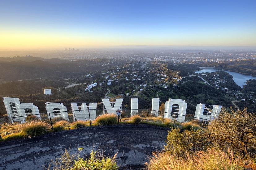 Hollywood Sign Sunrise
