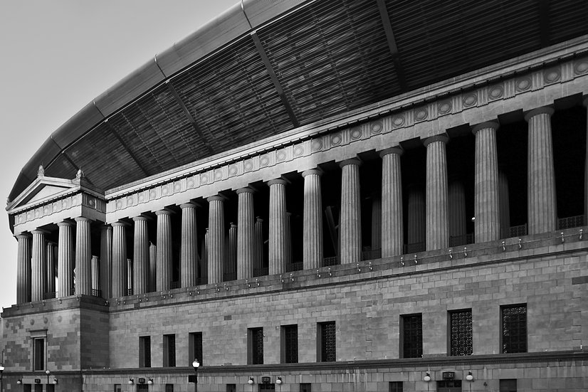 Soldier Field BW