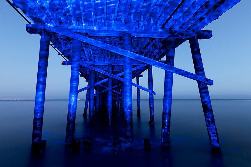 Blue Malibu Pier