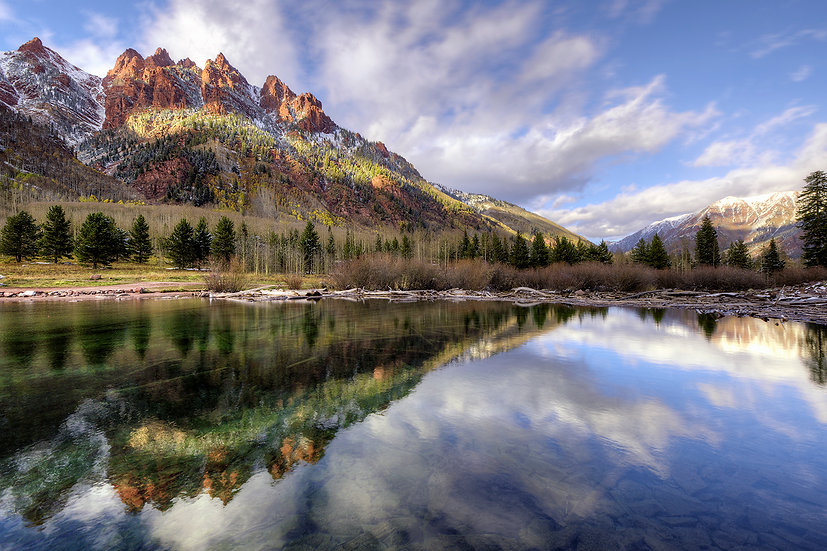 Sievers Mountain Reflections