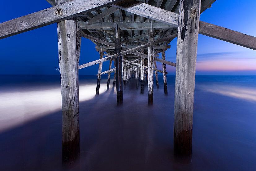 Balboa Sunset Pier - Newport California