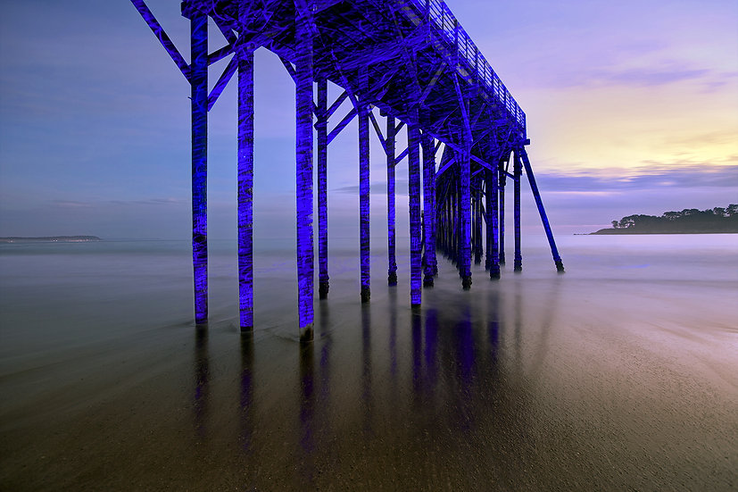 San Simeon Sunset Pier