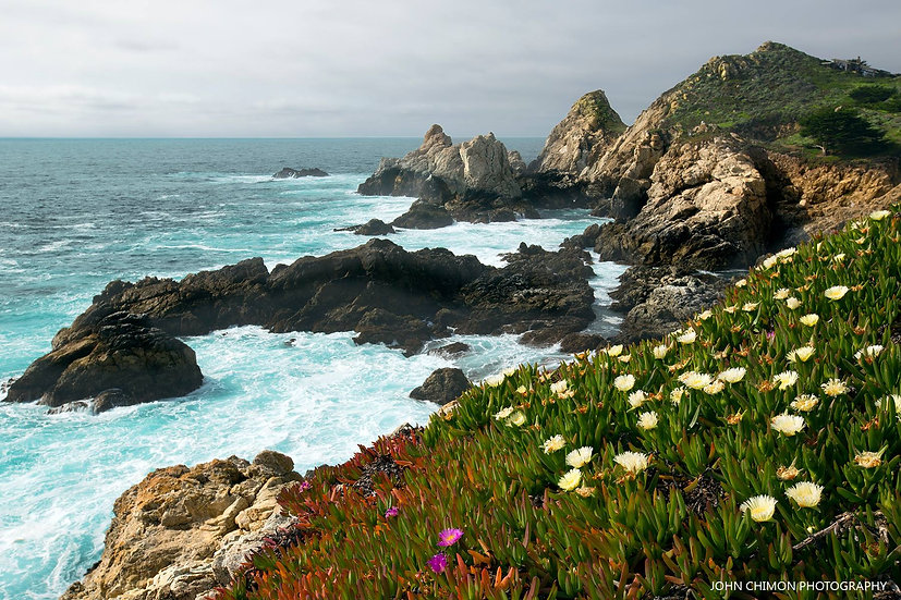 Big Sur Rocks - California