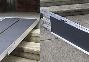 Portable Suitcase Ramp