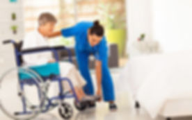 Nurse and her patient