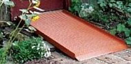 Solic Curb Wheelchair Ramp