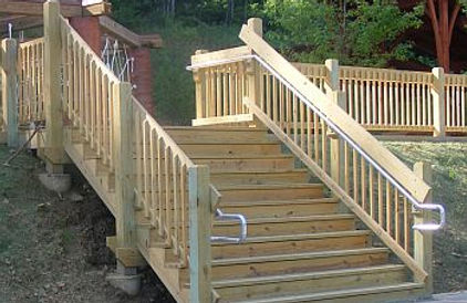 Wheelchair Ramp Handrails