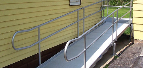 Commercial Rubber Wheelchair Ramp
