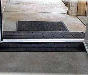 Small Black Wheelchair Ramp