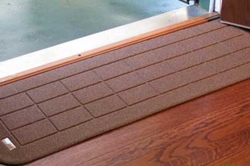 Rubber Threshold Ramps Small - Color          ON SALE !