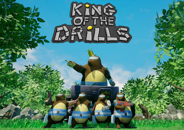 King of the Drills - Character Design
