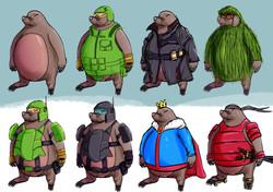 Mole Character Sheet