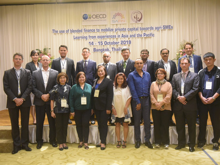 SAFIN workshop highlights experiences of blended finance and agriculture in Asia and the Pacific