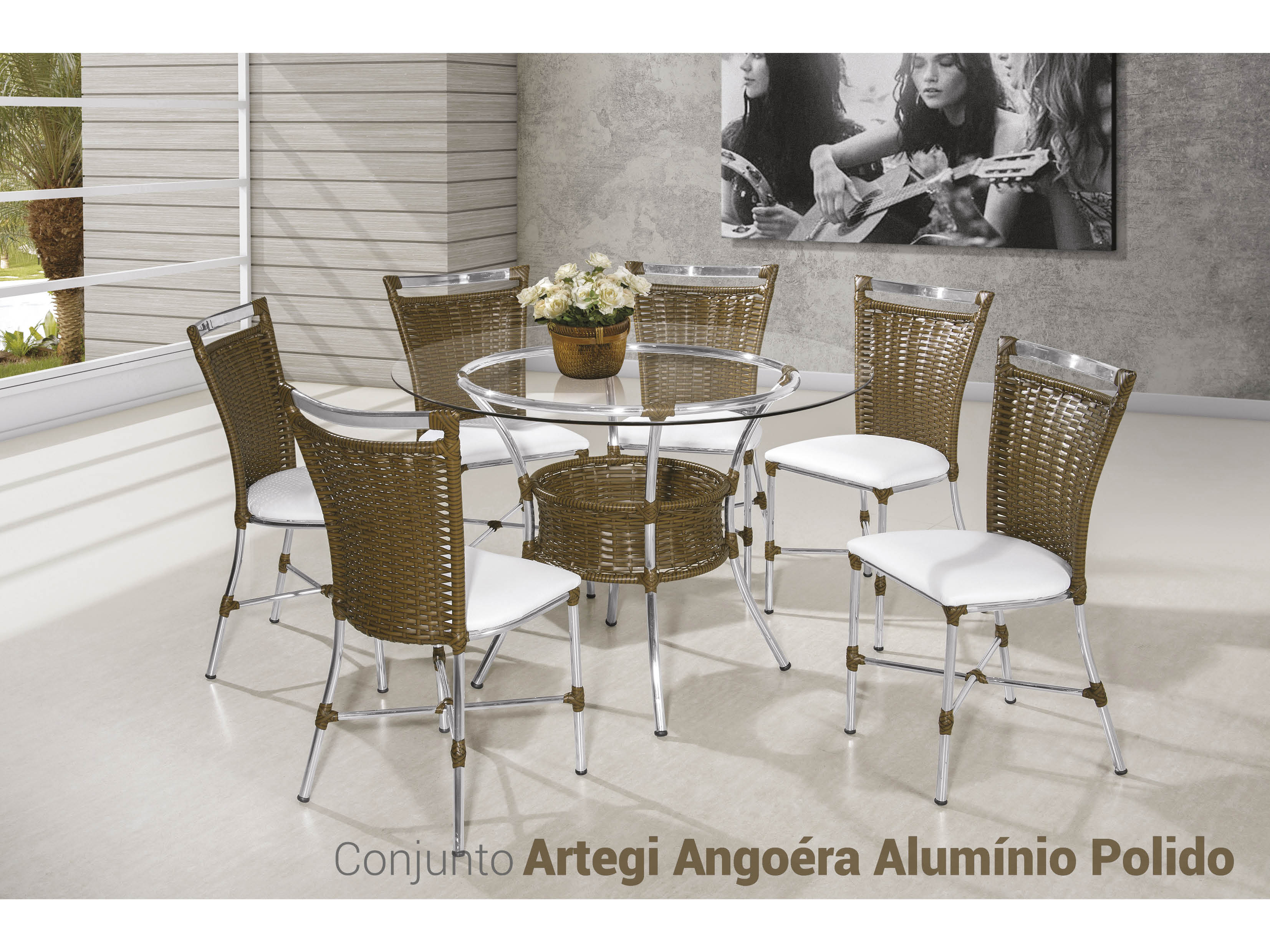 Artegi Angoéra Alumínio Polido